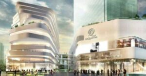 EmQuartier shopping mall in Bangkok,