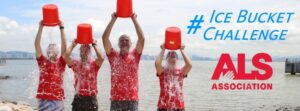 Beike Biotechnology staff participating in the ALS Ice Bucket Challenge