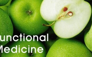 whole green apples